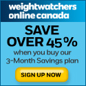 weight watchers canada promotion code